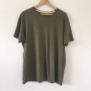 rag & bone olive green t-shirt